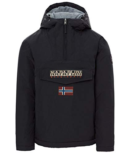 Napapijri Men's Rainforest Winter Anorak XL Black