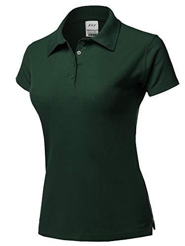 A2Y Basic Casual Essentials 4-Button Junior-Fit PK Cotton Pique Polo Shirt 2XL