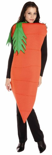 Green Costume Bunny Day (Adult Carrot Costume - One Size Adult (Does not include Plus)