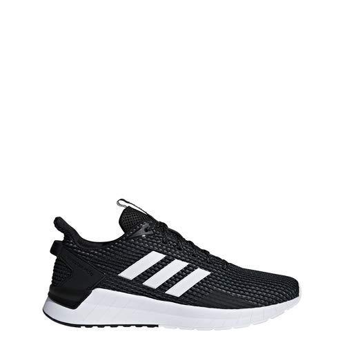 huge selection of 68865 66771 Adidas Mens Questar Ride Athletic Shoes, Core BlackFootwear WhiteGrey, 9