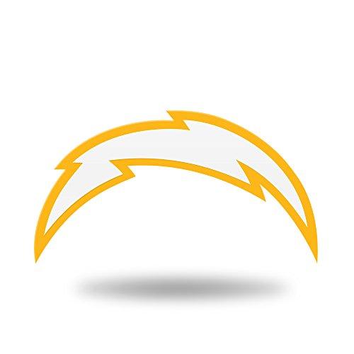 (Rico Industries NFL Los Angeles Chargers Team Color Auto Emblem 3D Sticker)