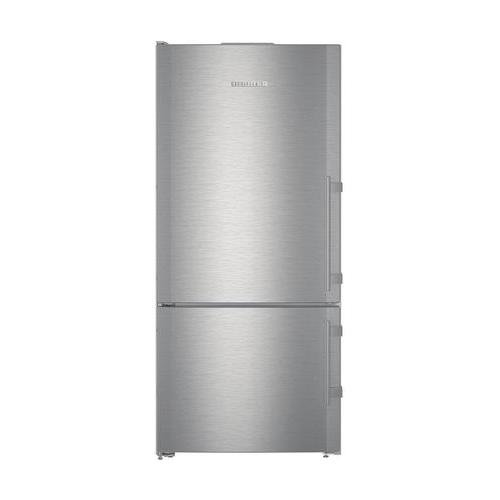 (Liebherr CS1401RIM 30 Inch Counter Depth Bottom Freezer Refrigerator with 12.8 cu. ft. Total Capacity in Stainless Steel)