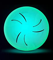 Dog Frisbee Indestructible Soft Disc - for Large Dogs - Glow in The Dark Frisbees for Training – Heavy Duty Du