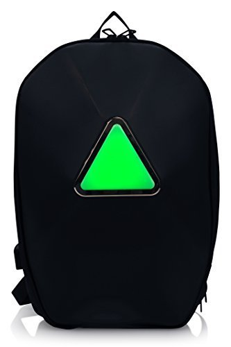 TRAKK ARMOR Smart App Enabled Bluetooth LED Light Outdoor Universal Backpack for Cycling/Hiking/Climbing/Running by TRAKK