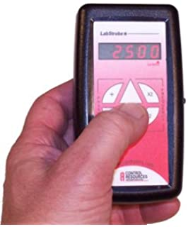 VTSYIQI 220V Stroboscope with Measuring Range 50 to 40000FPM Portable Digital Stroboscopic Analyzer