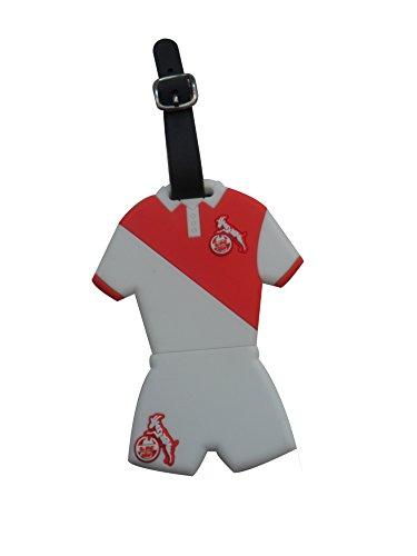 1. FC Köln Kofferanhänger [weiß/rot]