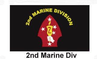 Sportsworld USMC Marines 2nd Division Flag