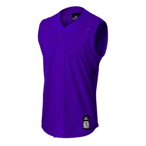 Mizuno 350520.6060.05.M Elite Mesh Game Jersey Sleeveless M Purple