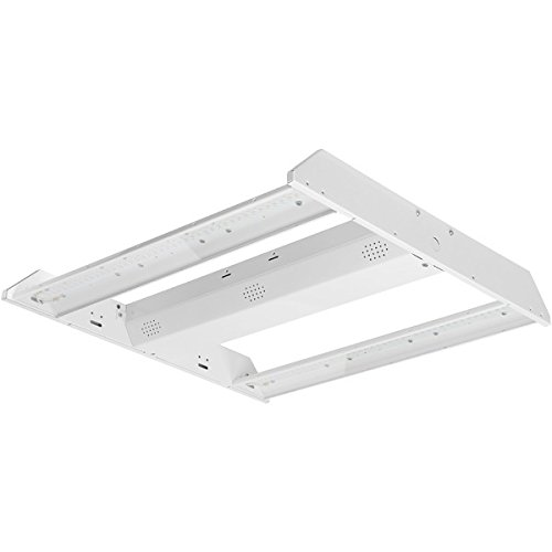 Green Creative 58197 2X2' High Bay, 4000K (Daylight White), Prismatic Optic (GP), Dimmable, 95W, 11,800 lm, DLC Standard