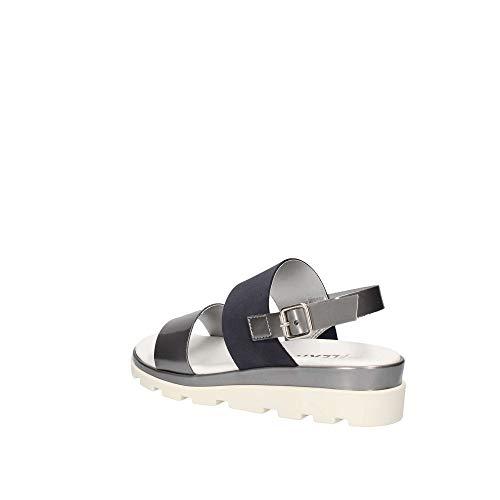 Flexx Bleu Fer Sandale Femme Samantha The Gris Et 5jqLAR43