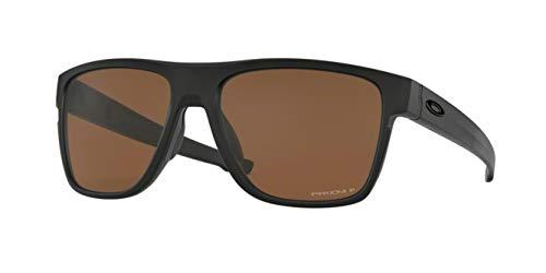 902490e793 Oakley Crossrange XL OO9360 Sunglasses-(22) Black/Prizm Tungsten  Polarized-58mm