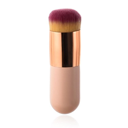 Voberry Makeup Brushes Powder Foundation Concealer Eyeliner Makeup Brush Blush Brush Cosmetics Tool (Pink)