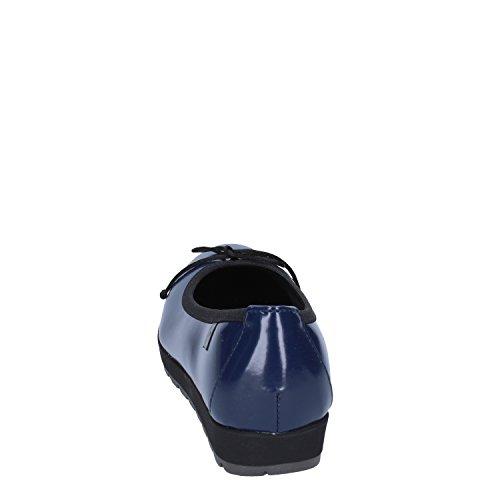 Sintetica Cinzia Pelle Ballerine Blu Soft Donna Eu 36 ffRUFw