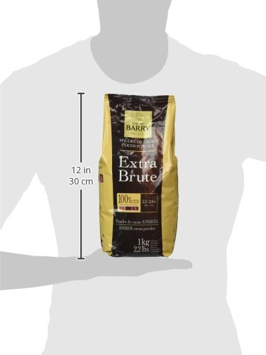 Cacao Barry Cocoa Powder 100% Cocoa Extra Brute, 2.2 lb by Cacao Barry (Image #2)