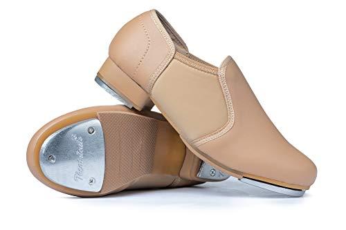 Child Tan Leather - Theatricals Child Neoprene Insert Tap Shoes T9100CTAN13.0 Tan 13 M US Little Kid