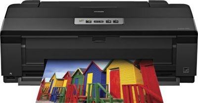 Epson Artisan 1430 Wireless Color Wide-Format Inkjet Printer with Glossy Photo Paper, 8.5 x 11 Inches, 50 Sheets