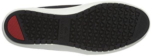 Lacoste AMPTHILL TERRA SNM Herren Sneakers Schwarz (BLK/BLK 02H)