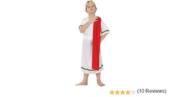 Bristol Novelty CC519 Traje Emperador Romano, Pequeño, 110 - 122 ...