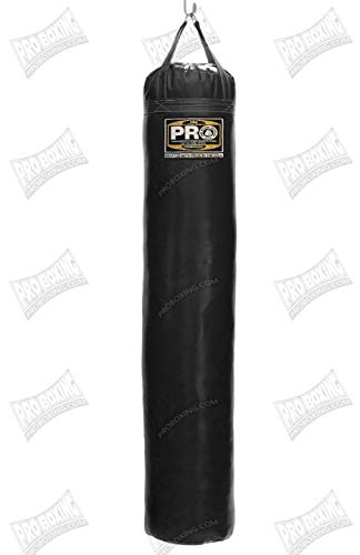 Pro Boxing Supplies Heavy Bags (150lbs, Black) (Pro Punching Bag)