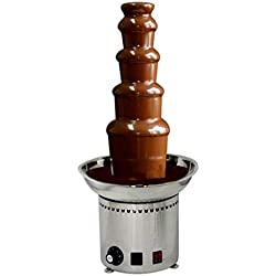 CO-Z Large Chocolate Fondue Fountain 27' 5-Tier All Stainless Steel for Big Party Wedding Hotel
