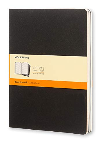 Moleskine Cahier Journal, Soft Cover, XL (7.5