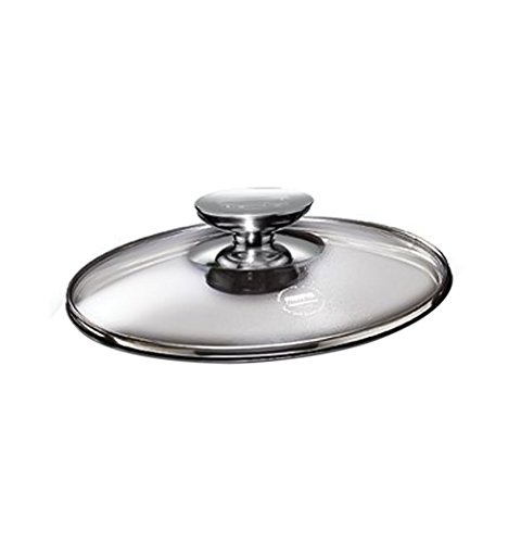 "SignoCast Glass Lid w/Stainless Knob for 10"""" Berndes Home K"