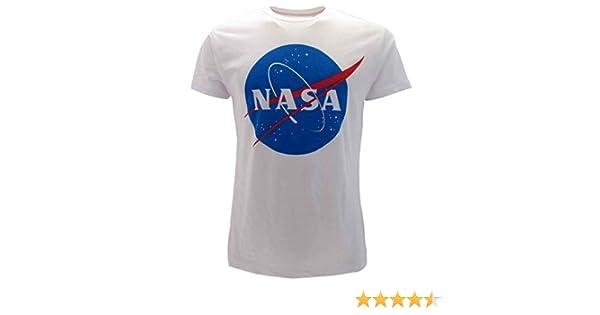 Sabor srl Camiseta NASA Original con Logotipo de National Aeronautics and Space Administration Oficial para niño o niña: Amazon.es: Ropa y accesorios