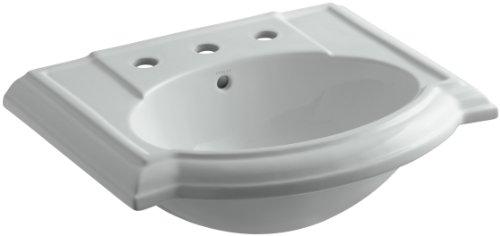 KOHLER K-2287-8-95 Devonshire Bathroom Sink Basin with 8