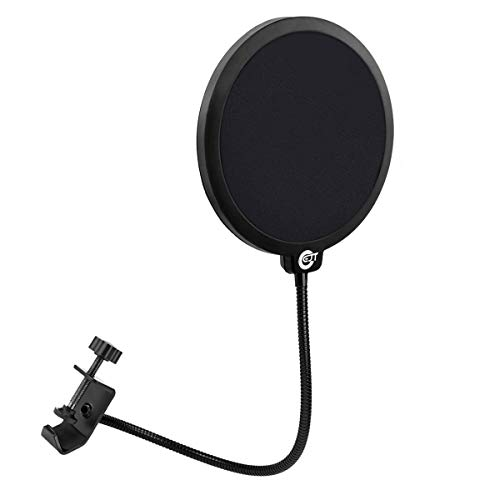 EJT Upgraded Microphone Pop Filter Mask Shield for Blue Yeti