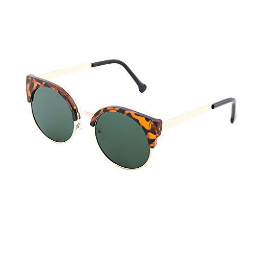 Tortuga TWIG sol Verde hombre redondo de Gafas espejo Oscuro HEGEL mujer S8Bxnpw