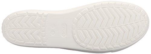 white Femme Flat Citilane W Crocs Sabots flame Rouge 4Z0Tcw