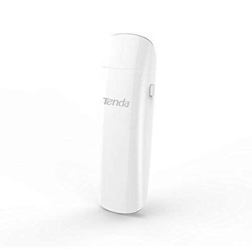 Tenda U12 AC1300 Dual-Band Wireless Wi-Fi USB 3.0 Adapter, 256-QAM by Tenda