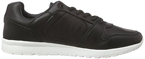 Le Coq Sportif Gaspar Leather Low - Zapatillas Hombre Negro