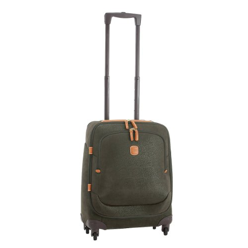 Bric's Luggage Life 21 Inch Carry On Spinner, Olive, One Size, Bags Central