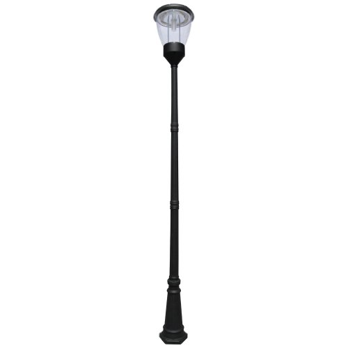 Lamp Balmoral (PO04 Solar 'Balmoral' Single Lamp Post Light)