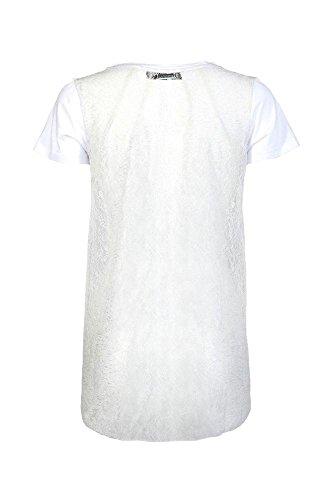 Cafè Noir JT020 T camisa de la impresión BOTELLA DE PERFUME E16.203 BIANCO