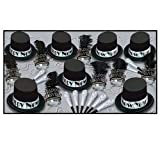 Silver Top Hat Party Supply Pack
