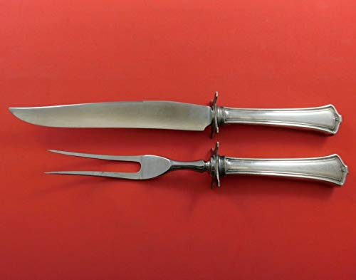 America by Wallace Sterling Silver Steak Carving Set 2-Piece HH WS 10 1/4