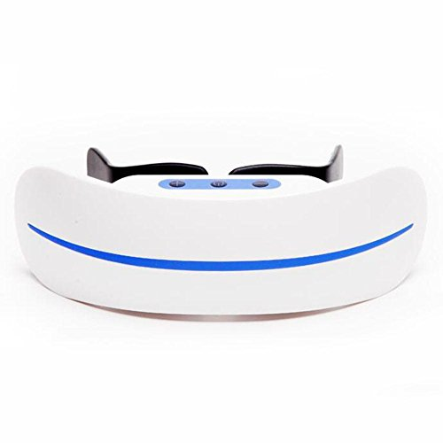 FJY Eye Massager Ergonomic Go Pouch Glasses Improvement of Myopia Protection Instrument Design 3D Mobile Optics,USB Charging, (Mobile Treatment)