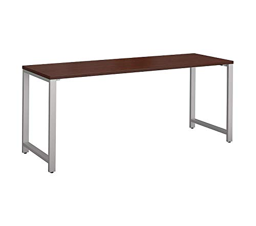 Wood & Style Office Home Furniture Premium 400 Series 72W x 24D Table Desk in Harvest Cherry