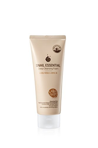 Deep Cleansing Foam (Premium) - Snail Essential by Kwailnara (Snail Essential Deep Cleansing Foam Cleansing Story)