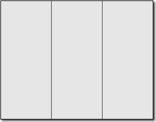 Grey Tri-fold Brochures - 250 Brochures by Desktop Publishing Supplies, Inc.