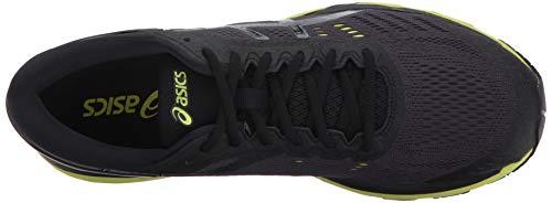 ASICS Mens Gel-Kayano 24 Running Shoe Black/Green Gecko/Phantom 6 Medium US by ASICS (Image #7)