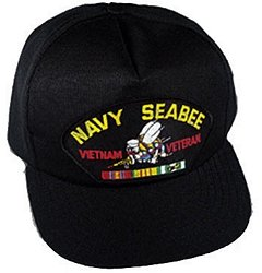 Navy Seabee Vietnam Veteran Ballcap