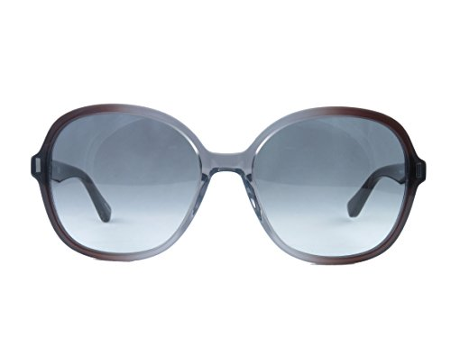 Bobbi Brown Sunglasses 0KB7 Gray Frame With Dark Gray Gradient - Sunglasses Pit Like Vipers