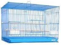 Mcage Aviary Breeding Bird Finch Parakeet Finch Flight Cage 24 x 16 x 16 Blue
