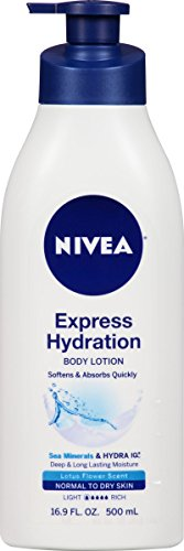 NIVEA Express Hydration Body Lotion 16.9 Fluid Ounce