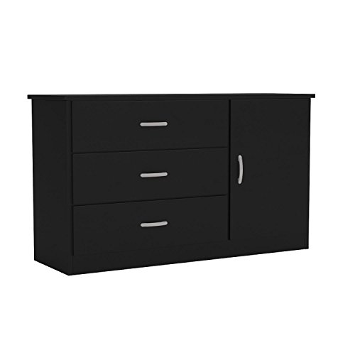 South Shore Libra Dresser, Pure Black