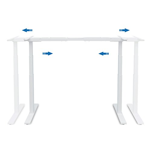 Devaise Electric Height Adjustable Standing Desk Frame