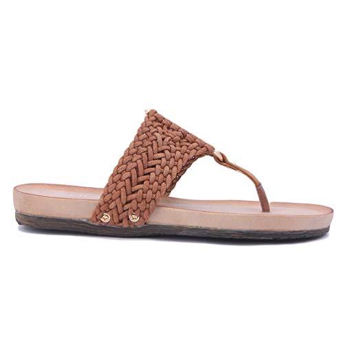 Marche Femmes Chaussures Plates Sandales Chameau Talon Loisir Ouvertes Confortable Tongs Plateforme Mode x7w8CO